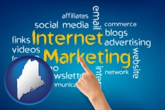 maine internet marketing phrases