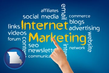 internet marketing phrases - with Missouri icon