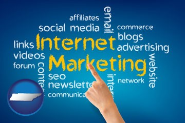 internet marketing phrases - with Tennessee icon