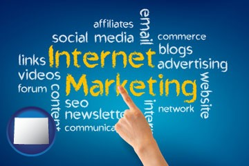 internet marketing phrases - with Wyoming icon